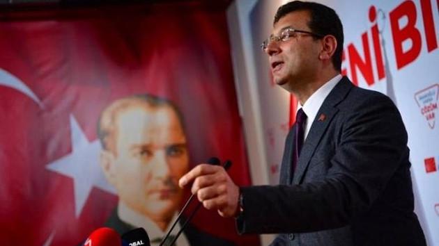 Ekrem İmamoğlu Atatürk'e hakaret eden ismi kovdu