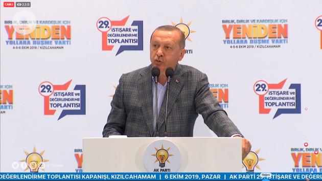 Erdoğan'dan flaş çıkış: Fitne burada bayağı egemen