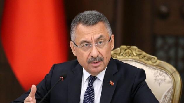 Cumhurbaşkanı Yardımcısı Oktay: Türkiye tehditlerle hareket edecek bir ülke değil