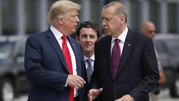 Trump'tan Erdoğan'a: Tüm IŞİD savaşçılarından sorumlu olursun