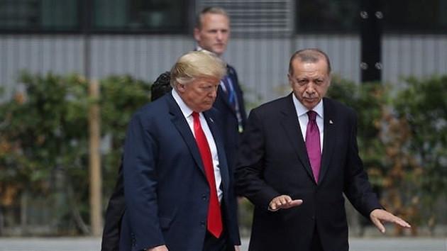 Erdoğan Trump görüşmesinde o iki isim de vardı