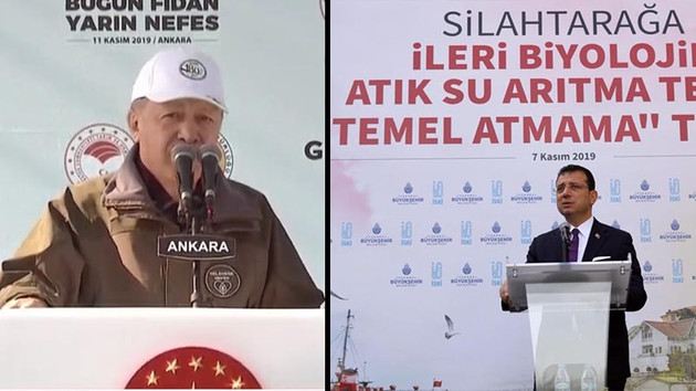 Erdoğan'dan İmamoğlu'nun temel atmama törenine sert tepki