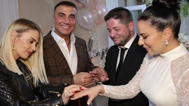 Sedat Peker o şarkıcının nişanına katıldı