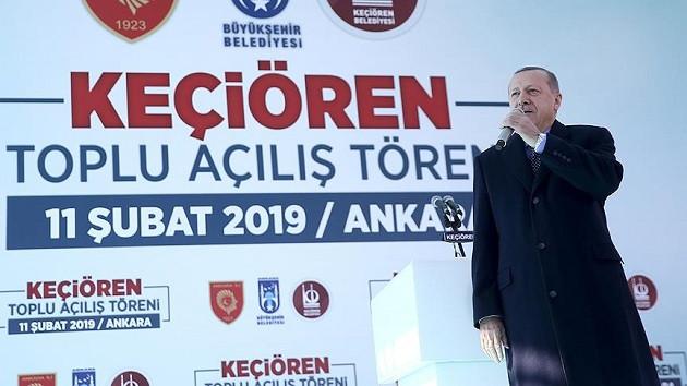 Erdoğan: Tanzim satışlarıyla fiyatlar yarı yarıya indi temizlik malzemelerinde de aynısı olacak