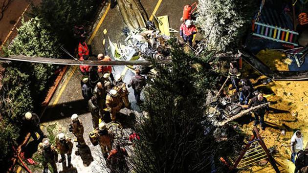 Son dakika: İstanbul'daki helikopter kazası için yayın yasağı