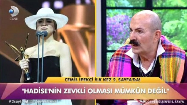 Cemil İpekçi'den Hadise'ye sert sözler: Sen kimsin?