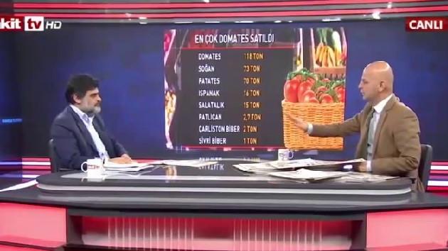 Akit TV sunucusu: Erdoğan patlıcanı ellerine verdi