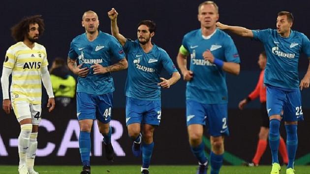 Son dakika: Fenerbahçe Zenit'e 3-1 yenilerek Avrupa'ya veda etti