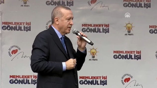 Erdoğan: CHP terör örgütünün siyasi temsilcileriyle yürüyor