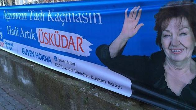 DSP'den aday olan Güven Hokna Yaprak Dökümü repliğini seçim sloganı yaptı, sosyal medya yıkıldı