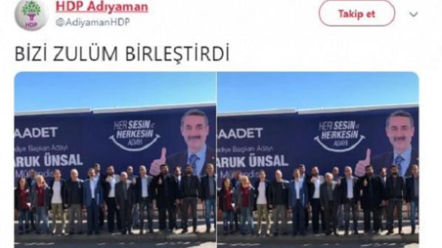 HDP'den Saadet adayına destek paylaşımı: Bizi zulüm birleştirdi