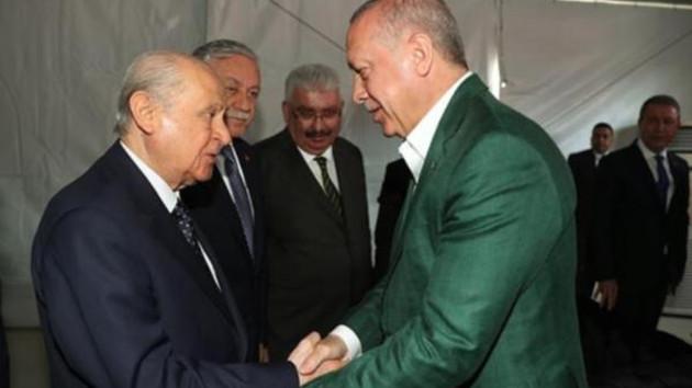 Erdoğan: Bahçeli son yılların en dirayetli siyasetçisi