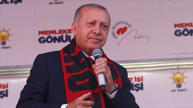 Erdoğan: Bay Kemal bunları senin belediyen değil biz yaptık biz