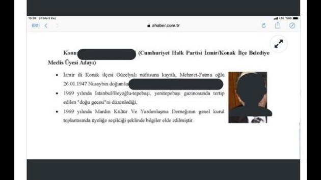 CHP'den A Haber'de yayınlanan belgelere sert tepki: Skandal fişleme...