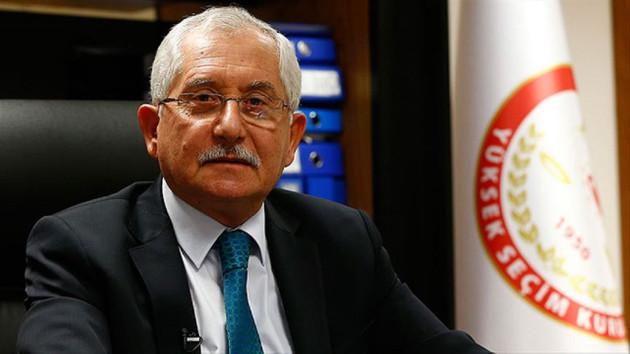 YSK Başkanından flaş 31 Mart seçimleri açıklaması