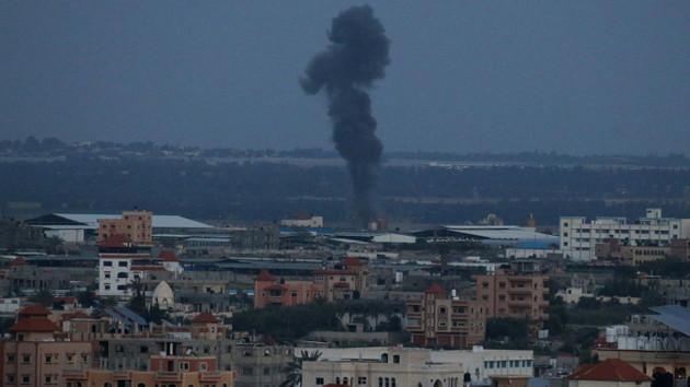 Son Dakika: İsrail jetleri Gazze'yi bombalıyor