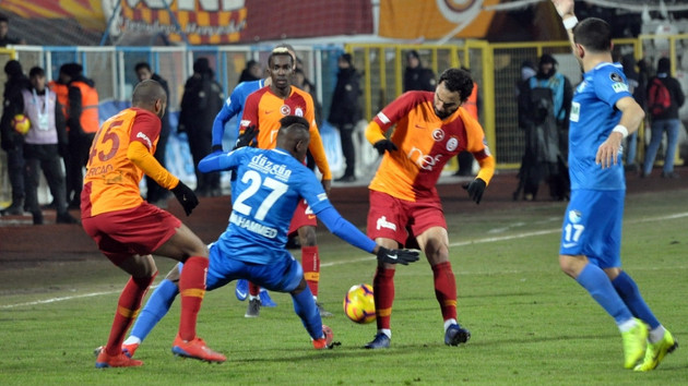 Galatasaray kritik 2 puanı Erzurum'da bıraktı