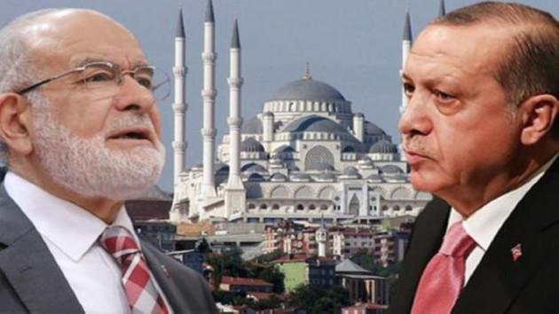 Karamollaoğlu'ndan Erdoğan'a Çamlıca Camisi yanıtı