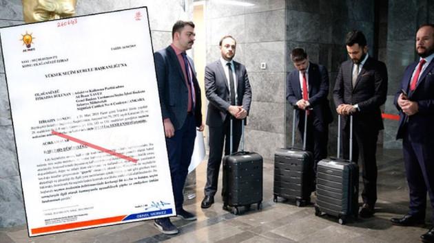 AK Parti'nin İstanbul dilekçesi ortaya çıktı