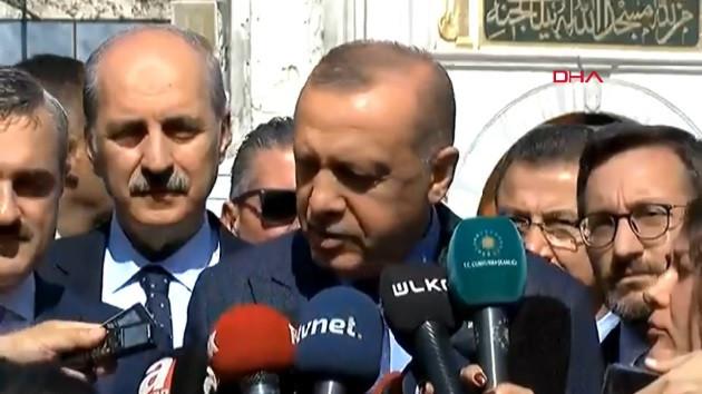 Erdoğan'dan oy sayımıyla ilgili flaş açıklama