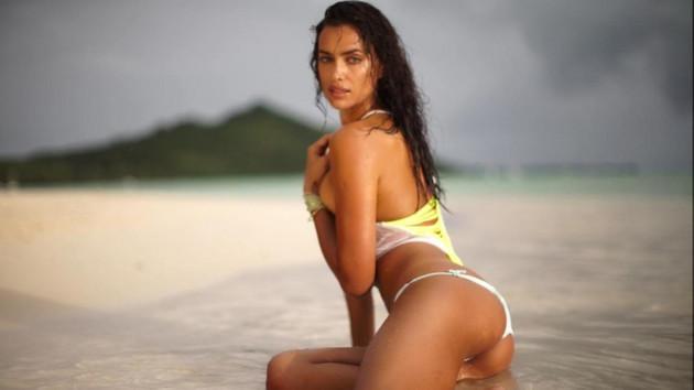 Irina Shayk'ın bikinili fotoğrafına beğeni yağdı