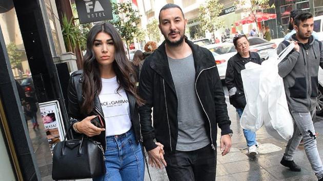 Necati Ateş gönlünü İzmirli sosyetiğe kaptırdı