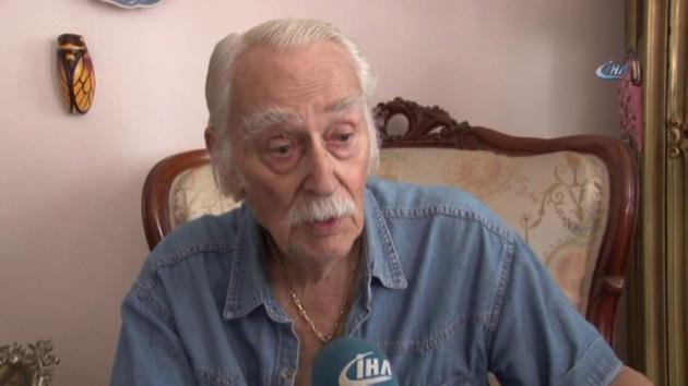 Usta oyuncu Eşref Kolçak hastaneye kaldırıldı