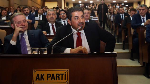 AKP'li Tevfik Göksu: Biz suyu getirmeseydik İmamoğlu indirim yapabilir miydi?