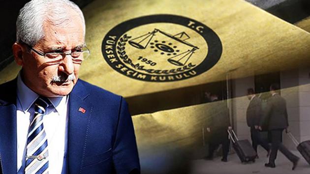 YSK Başkanı: İtiraz edilen 754 sandığın 750'sinde AK Parti görevlisi vardı