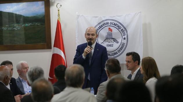 Soylu: Türkiye'nin herhangi bir noktasına uzun menzilli bir füzeyle saldırabilirler