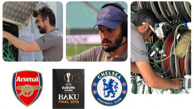 UEFA Avrupa Ligi: Arsenal ve Chelsea maçını Saran Medya dünyaya canlı yayınlıyor