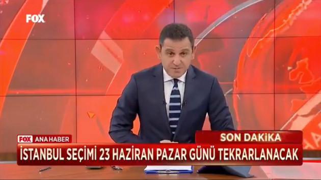 Fatih Portakal'dan İstanbul'da seçimleri iptal eden YSK'nın kararına sert tepki!