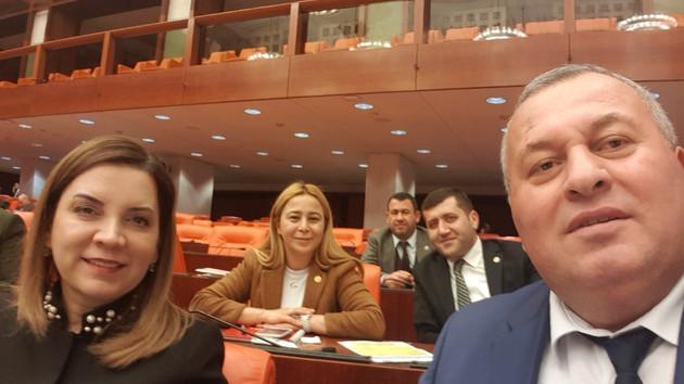 Son dakika: MHP'li ve HDP'li vekiller arasında faşist kavgası