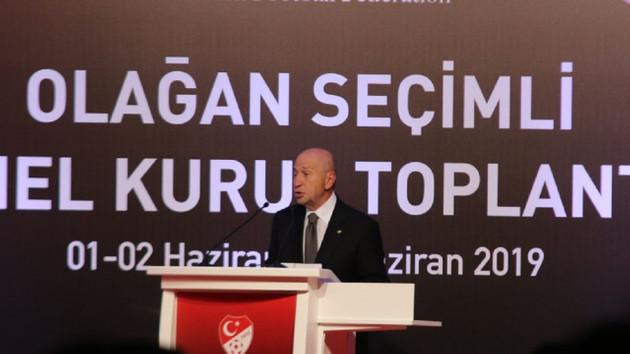 Türkiye Futbol Federasyonu'nun yeni başkanı Nihat Özdemir