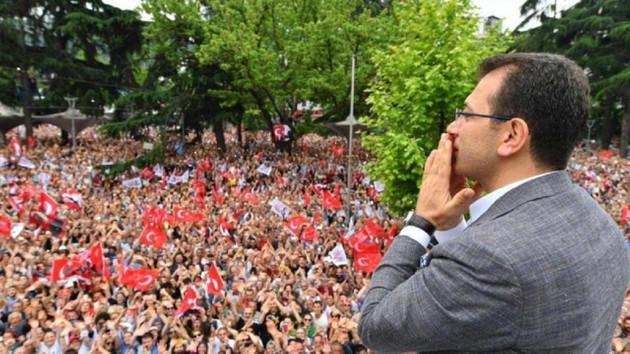 Soylu İmamoğlu'nun Trabzon mitingine photoshop dedi