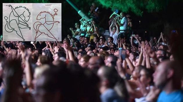 Uluslararası festivalin afişi tartışmalara sebep oldu: Cilveli Truva Atı…