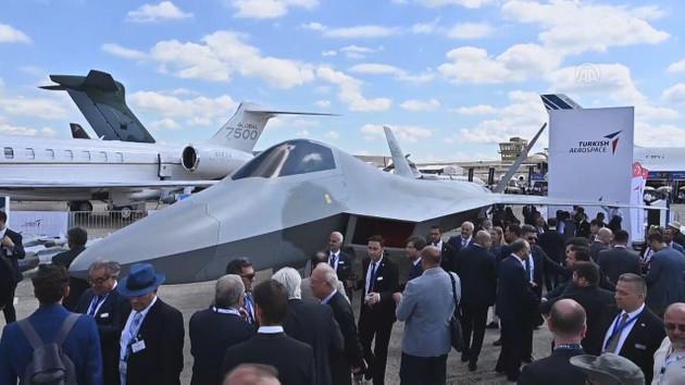 Milli Muharip Uçağı görücüye çıktı