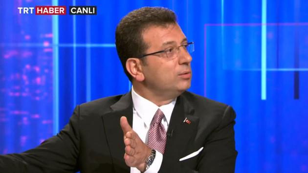 İmamoğlu'ndan TRT'ye: Burası benim!