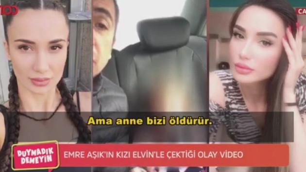 Emre Aşık ve 3 yaşındaki kızının videosundaki dialog kan dondurdu: Annemin yanına gitme seni öldürür