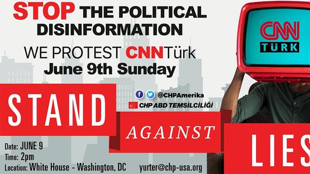 CHP'den ABD'de CNN Türk protestosu: CNN isim hakkını geri çeksin