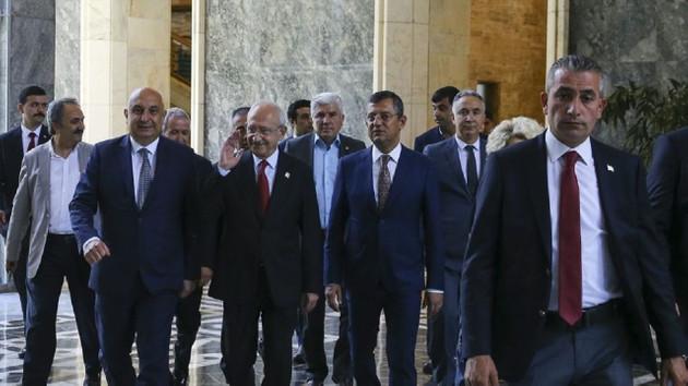 CHP PM toplandı: Gündem seçim sonuçları