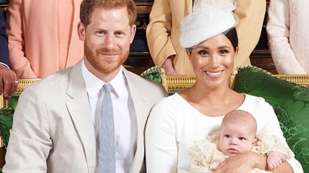 Küçük Prens Archie'nin vaftiz töreni gerçekleşti