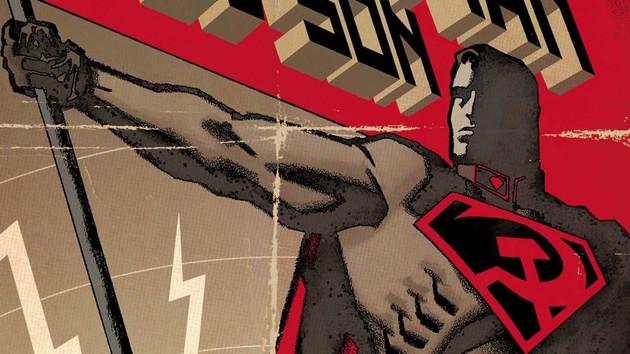 Süpermen bu kez  Stalin ve sosyalizm için mücadele edecek!