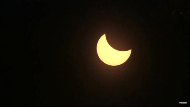 Yılın en uzun güneş tutulmasından en etkileyici görüntüler Şili'den