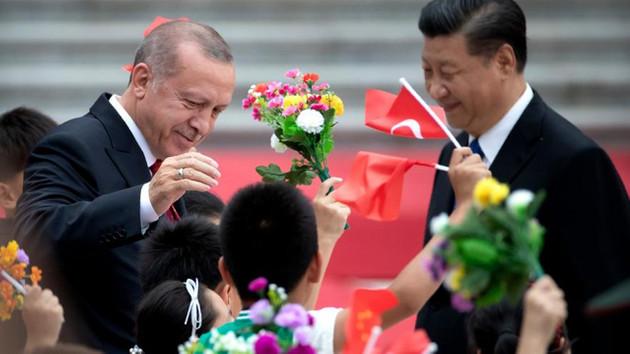 Çin medyası: Erdoğan Sincanlılar mutlu dedi
