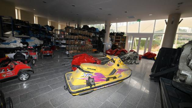 Ankara'da bu da oldu: Belediyenin deposundan jet ski çıktı!