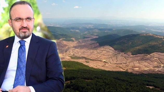 AKP'li Bülent Turan'ın Kaz Dağları iddiasına yalanlama