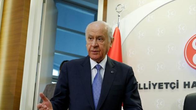 Bahçeli: Türkiye'yi ateş çemberinden çıkarmaya kararlıyız
