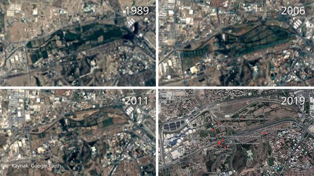 Uydu görüntülerindeki acı tablo: Atatürk Orman Çiftliği nasıl talan edildi?