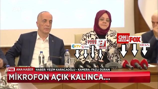 NTV, CNN Türk, Habertürk de oradaydı: Atalay'ın sözlerini sadece FOX Haber yayınladı